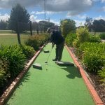 October Mini Golf